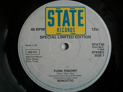 """ROKOTTO Funk Theory 12"""" vinyl Sound Clip in Listing"""