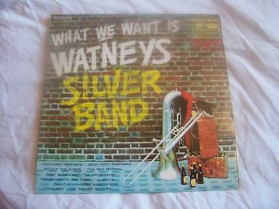 WATNEYS SILVER BAND What We Want Is UK LP 1969