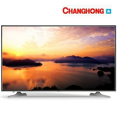 "Tv 50"" Pollici Changhong Led50D3000Isx Fhd Wifi Smart Dvb-T2 S2 Hotel Televisore"