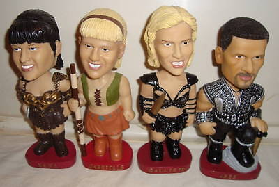 Xena Bobbleheads Complete Set Of 4 Rittenhouse Archives Callisto Gabrielle Ares