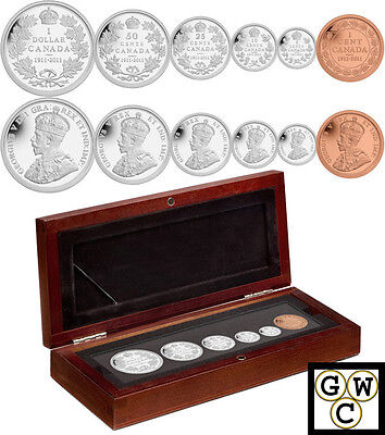 1911-2011 Proof Set of 6 Coins (12862)