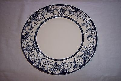 """Rosina Queens The Royal Palaces 10 3/4"""" Dinner Plate - England"""