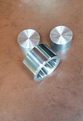 """Coin Ring Die Set For Swedish Wrap (Sw)  Method 1.5"""" Extrusion Die Add On Kit"""