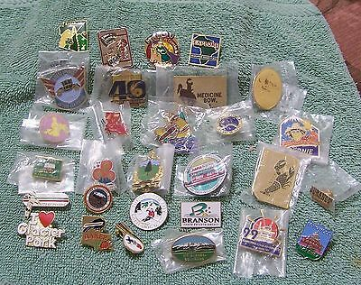 Lot Of 29 Pins From Fairs, Festivals & Parks In Canada & United States