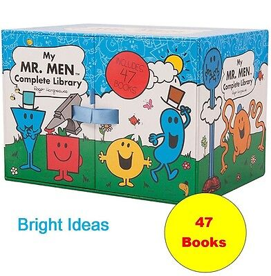 My Mr Men Complete Library 47 Book Set / Box Set by Roger Hargreaves - New and S