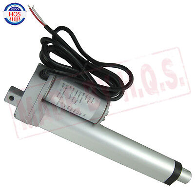 "Heavy Duty 6""  Inch Linear Actuator Stroke 225 Lb Pound Max Lift 12V Volt DC"