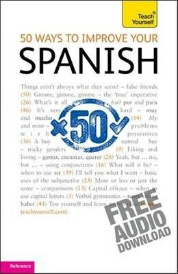 50 Ways to Improve Your Spanish: Teach Yourself by Keith Chambers Paperback Book
