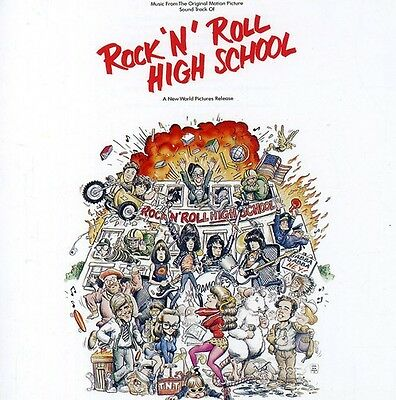 The Ramones - Ramones / Rock & Roll High School (Original Soundtrack) [New CD] S