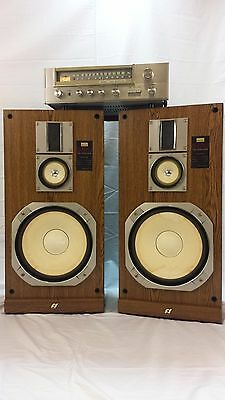 Sansui Stereo and Speakers  Great Sound !    Vintage Audio System