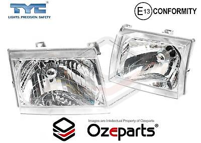 Set / Pair LH+RH Hand Head Light Front Lamp For Ford Courier PG PH Ute 2002~2006