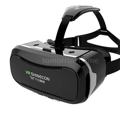 """VR SHINECON II 3D Virtual Reality VR Glasses Headset for 4.7- 6"""" Smartphone N6Z1"""