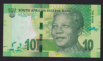 South Africa 10 Rand Banknote 2012 P-113a