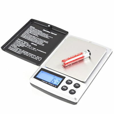 Mini 1000g/0,1g mini Feinwaage Digital Waage Taschenwaage Briefwaage 1000g  &7