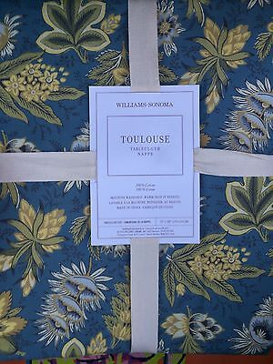 """Williams Sonoma Toulouse Tablecloth 70"""" X 108"""" NEW"""