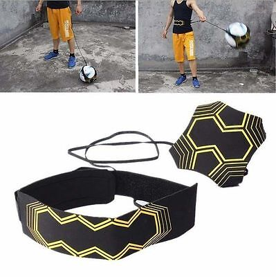 Football Soccer Exercises Ball Kick Trainer Skills Practice Equipment Training