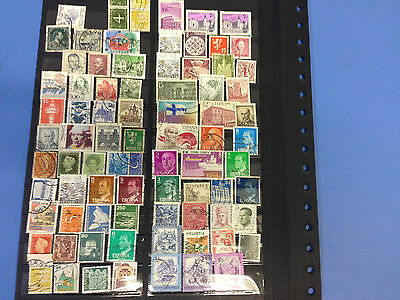 European Stamps Selection, fine used conditions, over 80