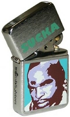 Brand New - The A Team Mr. T Sucka Chrome Windproof Lighter