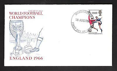 First Day Of Issue--World Football Champions--**england 1966**--Winners Stamp