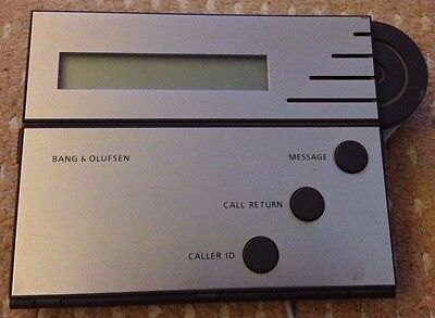 Bang & Olufsen B&O BeoTalk 1100 Answer Phone Answering Machine and Cables