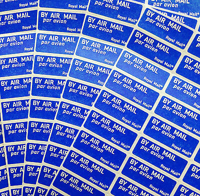 Airmail Air Mail Labels Stickers, New free postage