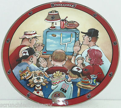 Tampa Bay Buccaneers Player Collector Plate Ultimate Fan NFL Danbury Mint
