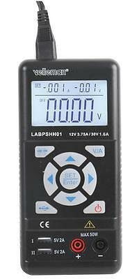 Velleman Instruments - LABPSHH01 - Lab Power Supply, Handheld