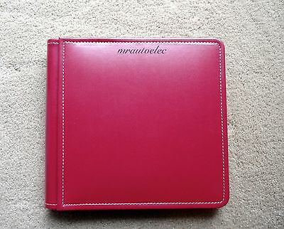 Creative Memories 8x8 Red Picfolio Album BNIP - Includes side loading pages