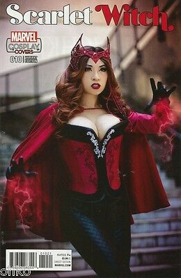 Marvel Comics - Scarlet Witch #10 - Cosplay Variant - Brand New