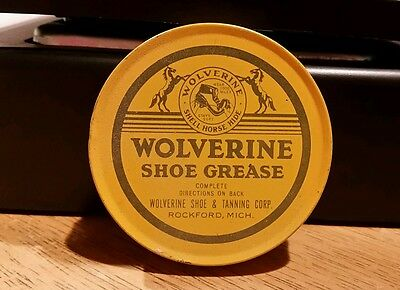 Wolverine Shoe Grease Shell Horse Hide Rockford Michigan