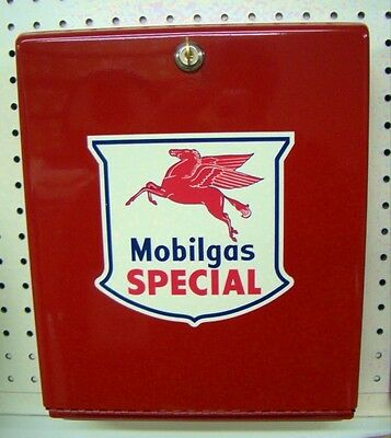 New Red Mobilgas Special Paper Towel Dispenser With 1000 Multi Fold Towels