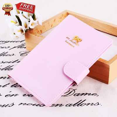 Travel Journey Passport ID Card Holder Case Cover Purse and Passport case (Bows