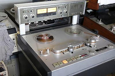 Legendary Studer A80 RC reel to reel studio master tape recorder one of the best