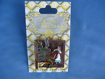 BEAUTY & The BEAST  Disney Pin 2016 25 ENCHANTED YEARS  BELLE Limited New Card