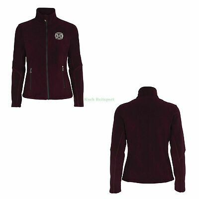 Harcour by Scan-Horse Fleecejacke Chamrousse Farbe pflaume