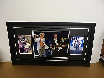 The Who Genuine Hand Signed/Autographed Photograph with COA