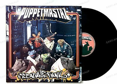 The Puppetmastaz - Creature Funk GER 2LP 2003 //1