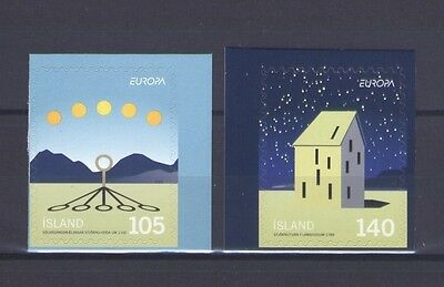 Iceland, Europa Cept 2009, Astronomy - Adhesive, Mnh