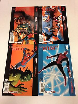 Ultimate Six #1 2 3 4 5 6 7 Ultimates Ultimate Spider-Man Brian Michael Bendis