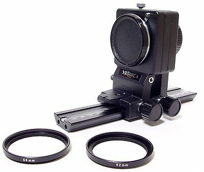 Yashica Auto Bellows + Focussing Rail | Immaculate Condition | Boxed | Contax..