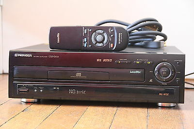 Pioneer CLD 515 PAL/NTSC Lasedisc Player Flagship Model Modèle Phare LD Player