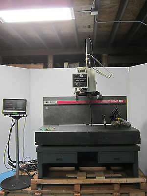 Sheffield Measumen Cordax 1808-M Measuring Table On Granite Table