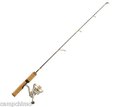 "Frabill Ice Hunter 26"" Ice Fishing Combo Medium Action Deep Water Walleye 6784"
