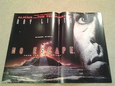 No Escape - Original UK Mini Poster