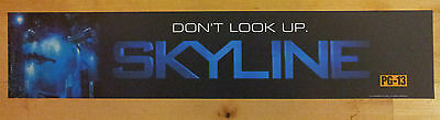 Skyline (Don't Look Up), Large (5X25) Movie Theater Mylar Banner/Poster