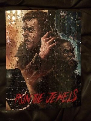 Run The Jewels Puzzle Poster Rare Jewel Blade Runner Tour Sold Out