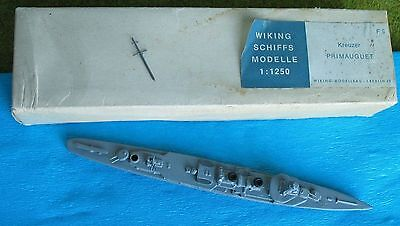 Wiking Waterline Model Ship 1:1250 : F9 reuzer Primauguet - boxed