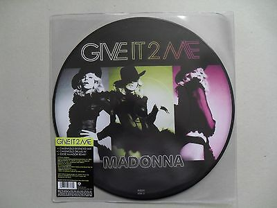 """Rare 12"""" Madonna-Give It 2 Me (Picture Disc) (2008) (Mint)"""