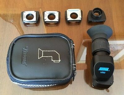 Hoodman H-RAV Professional Right Angle Viewfinder for Nikon or Canon w/Pouch