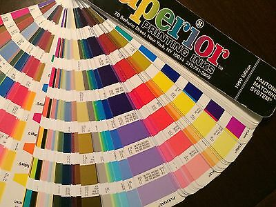 PANTONE Matching System Printing Color Formula Guide Coated Uncoated 1999 FreeSh
