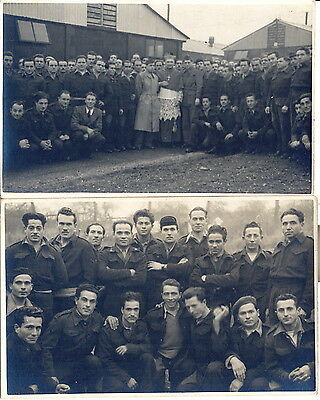 Byfield Northamptonshire U.k. P.o.w. Pow Prisoner Of War Camp 87 1945 Ww2 Wwii
